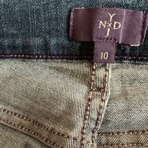 NYDJ Women's Dayla Wide Cuff Capri Jeans